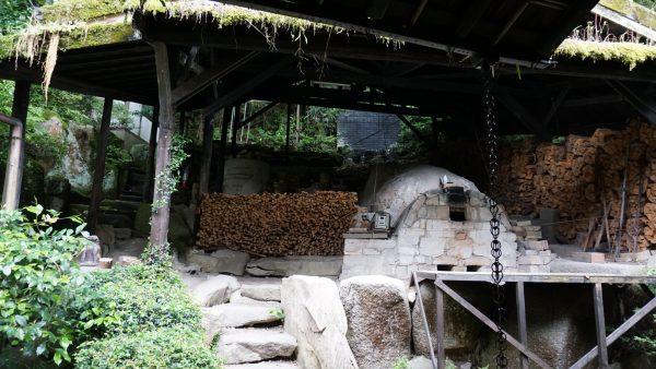 桃山様式の穴窯